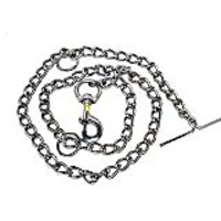 Chrome Coated Brass Chains For Dogs(Thickness)Size3