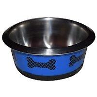 Bone Shaped Dog Feeding Bowl Large