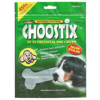 Choostix Chicken Natural Treats Pack Of 3