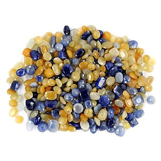 1000 Ct Blue Sapphire & Yellow Sapphire