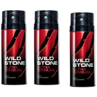 Wildstone Spray Deo For Men 100ml (Set of 3)