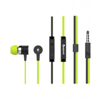 New Best Rock Candytech S-40-gn In Ear Wired Earphones With Mic Green