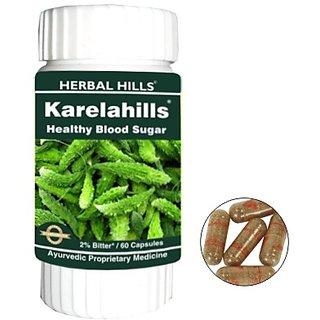 Herbals Karela - 60 Capsules