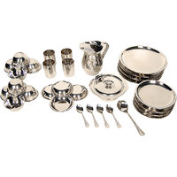 Stainless Steel 31 Pcs Dinner Set - 4750