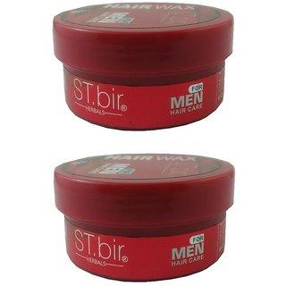 ST.bir Herbals Hair Wax For Men (Red)-75g (Pack Of 2)