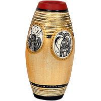 VarEesha Simmer Gold Terracotta Vase