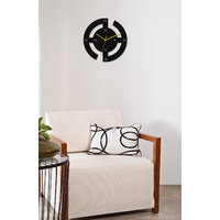 Gloob Designer Wheel Acrylic Wall Clock - Glac078