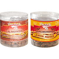 Almonds Smoked Barbeque & Lemon Pepper-Chocholik Dry Fruits-2 Combo Pack