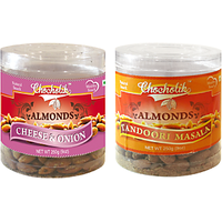 Almonds Cheese Onion & Tandoori Masala-Chocholik Dry Fruits-2 Combo Pack