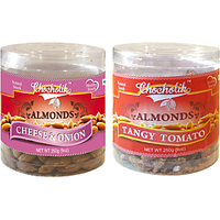 Almonds Cheese Onion & Tangy Tomato-Chocholik Dry Fruits-2 Combo Pack