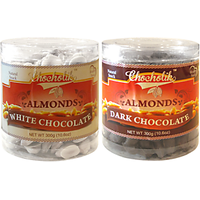 Almonds White & Dark Chocolate-Chocholik Dry Fruits-2 Combo Pack