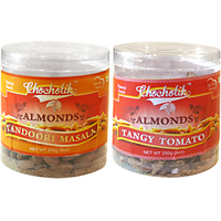 Almonds Tandoori Masala And Tangy Tomato-Chocholik Dry Fruits-2 Combo Pack