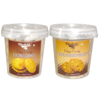 Coconut & Ginger Cashew Cookies-Chocholik Cookies-2 Combo Pack