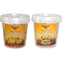 Sugar Free Almond & Almond Bullets Cookies-Chocholik Cookies-2 Combo Pack