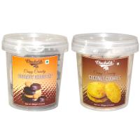 Coconut Choco Dip & Coconut Cookies-Chocholik Cookies-2 Combo Pack