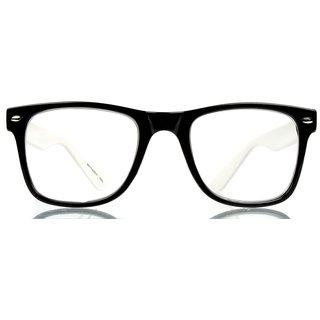 Davie Jones Men's Wayfarer Sunglasses (DJWFRSWHTB2)