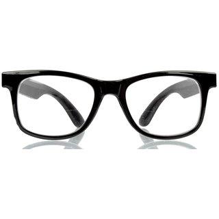 Davie Jones Men's Wayfarer Sunglasses (DJWFRSBLKB)