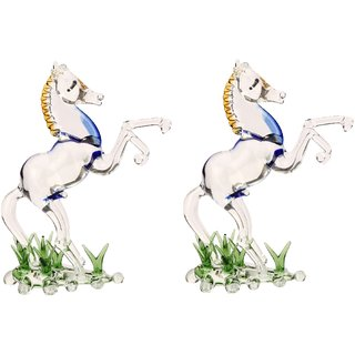 Mighty Sinewy Horse (Set Of 2)-JB