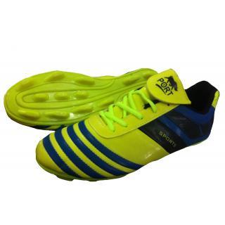 Port Unisex Alpha Green Pu football Shoes