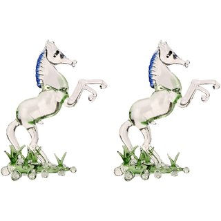 Mighty Sinewy Horse (Set Of 2)-IR