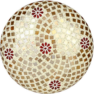 Somil New Design Glass Round Ceiling Lamp Hand Decorative with Coorful Chips & Beads-82