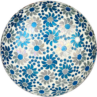 Somil New Design Glass Round Ceiling Lamp Hand Decorative with Coorful Chips & Beads-83