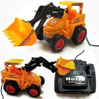 Power Driving Truck Wired Remote Control Battery Operated JCB No.6880S