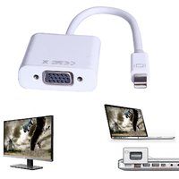 Mini DisplayPort To VGA Cable Adapter For Apple Macbook Pro Air IMac