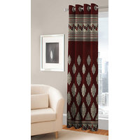 BSB Trendz  Panle Print Single Door Curtain