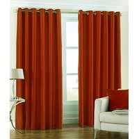 BSB Trendz Crush Plain Single Window Curtain