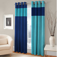 BSB Trendz  Panle Print Set Of 2 Door Curtain