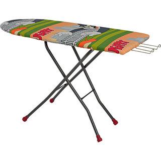 Delux Table Heavy Duty Iron Tnt Ironing Board Press 18 X 48 Inch Bajaj Combo ( With 10 Years Warranty )