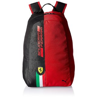 Puma Fanwear Rosso Corsa and Black Casual Backpack available at ShopClues  for Rs.2699 0889592736602