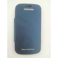 FLIP CASE COVER FOR SAMSUNG GALAXY S Duos S7562 S 7562 Pebble Blue