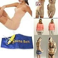 Combo Offer Sauna Belt Slim And Lift Body Shaper