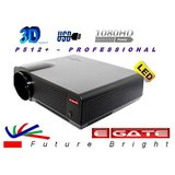 LED Projector Egate P512 + Egate BagPack + 8GB PenDrive + 3D Glass
