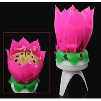 musical flower candles