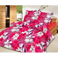 Zigma Collections Color Of Dream 100% Cotton Double Bedsheet - 5016512