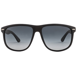 Vincent Chase Colorato VC 5154 Matte Black Blue Gradient 1111/52 Wayfarer Polarized Sunglasses