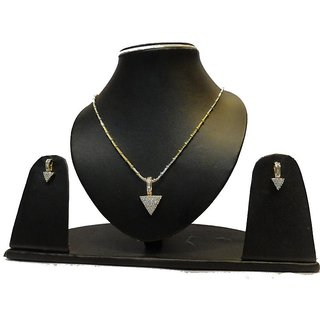Natraj Arts American Diamond Jewellery Necklace Set Gfns_M_201