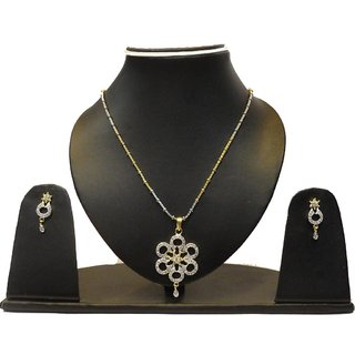 Natraj Arts American Diamond Jewellery Necklace Set Gfns_M_210