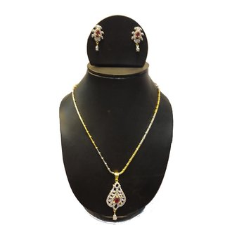 Natraj Arts American Diamond Jewellery Necklace Set Gfns_M_222