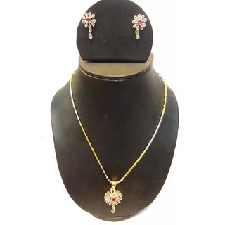 Natraj Arts American Diamond Jewellery Necklace Set Gfns_M_225