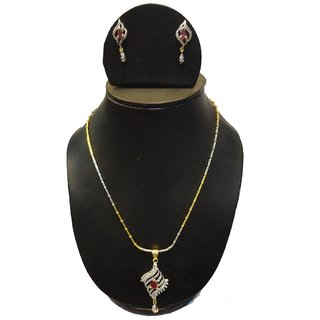 Natraj Arts American Diamond Jewellery Necklace Set Gfns_M_227