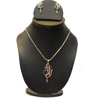Natraj Arts American Diamond Jewellery Necklace Set Gfns_M_238