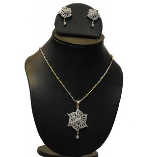 Natraj Arts American Diamond Jewellery Necklace Set Gfns_M_239