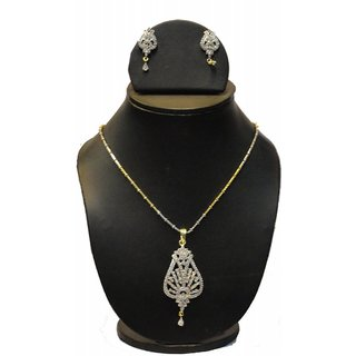 Natraj Arts American Diamond Jewellery Necklace Set Gfns_M_245
