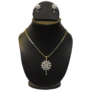 Natraj Arts American Diamond Jewellery Necklace Set Gfns_M_248