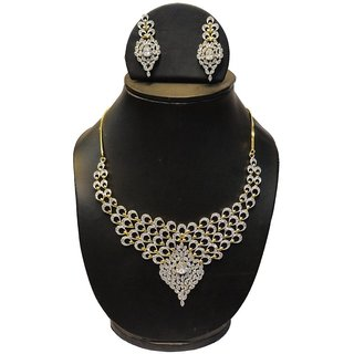 Natraj Arts American Diamond Jewellery Necklace Set Gfns_M_253
