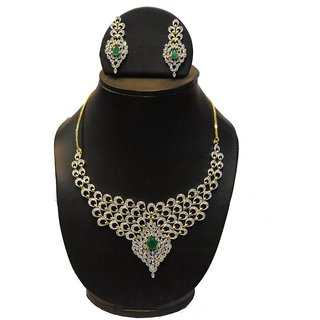 Natraj Arts American Diamond Jewellery Necklace Set Gfns_M_254